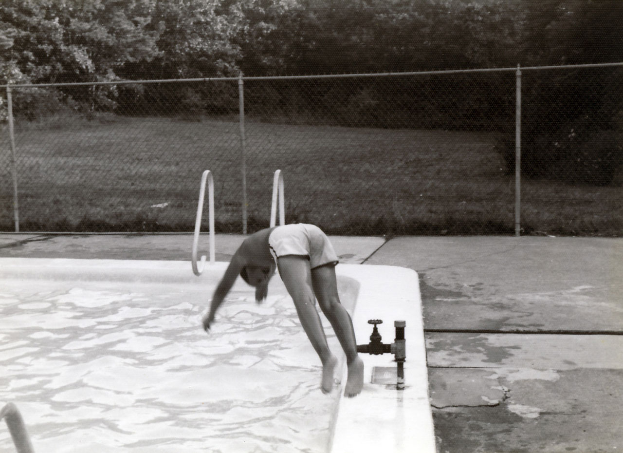 Camp cachalot alumni association swimming pool 1970s for Pool design 1970